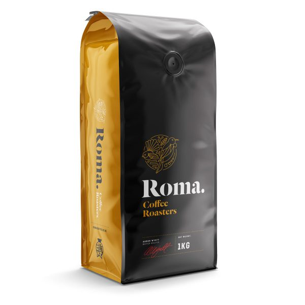 roma coffee bag 1kg